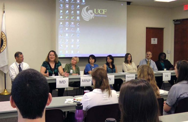 Panel Provides Insight to Medical Students | University of Central