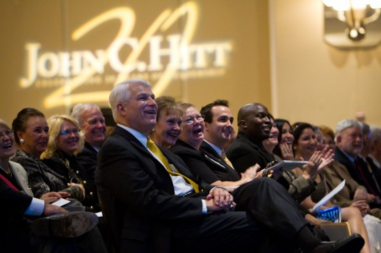 President Hitt Honored for 20 Years of Service to UCF