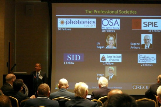 SPIE Honors CREOL's Excellence During 25th Anniversary Events