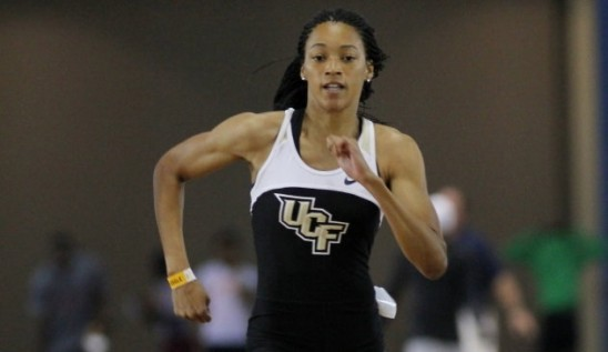 UCF Freshman Clocks World's Fastest 100M Time This Year