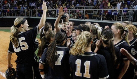 UCF and USF to Square Off in NCAA Softball Tourney