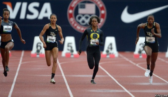 Scott, Freeman End 100m Competition at U.S. Olympic Trials