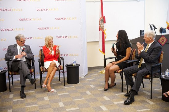 Forum With Jill Biden Highlights 'DirectConnect to UCF'