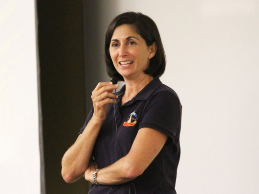 Nicole Stott Shares Thrills, Lighter Moments of Space Travel