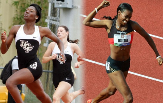 Olympians Charles, Trotter to Compete in 400M Friday