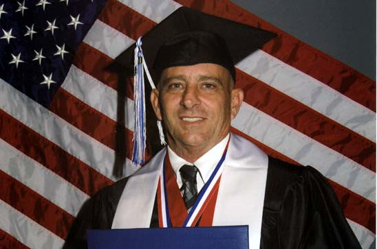 Dad Sets Example for His Children: 4 Diplomas in 5 Years