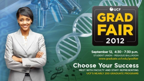 Save the Date: UCF Grad Fair