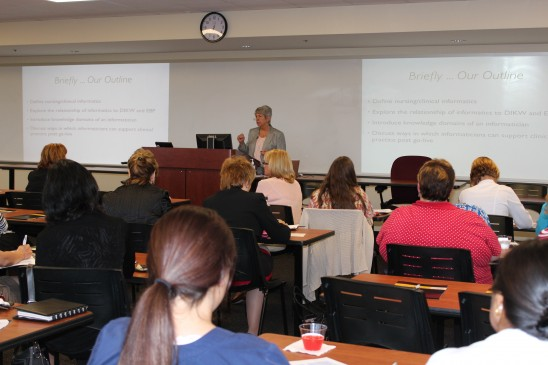 Nursing Lecture Looks at Impact of Electronic Health Records