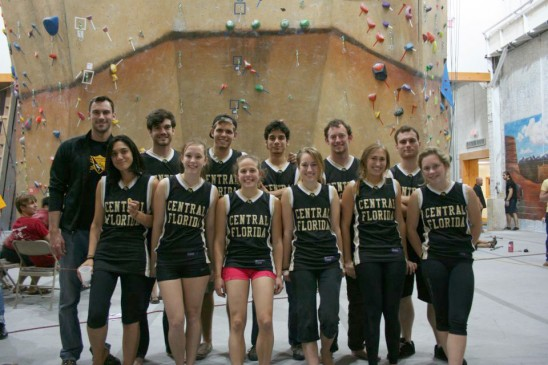Rock Climbing Team Goes to the Nationals