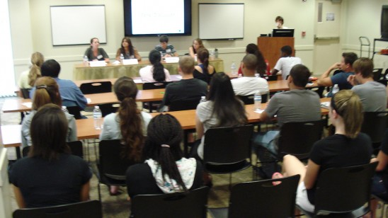 Student Panel Helps FTICs be Successful