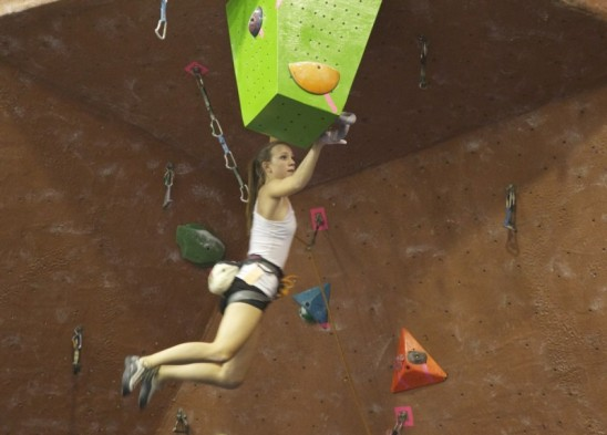 Chemistry Student Reaches for International Rock Climbing Gold
