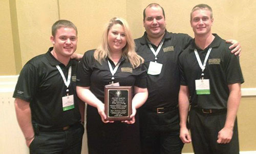 Student Group Places Third in National Competition
