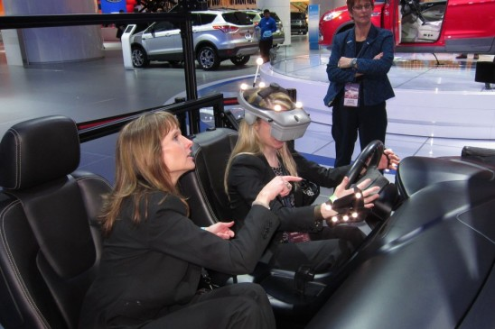 On Campus: Experience a Virtual Reality Car