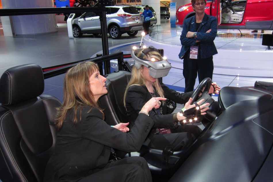 On campus experience a virtual reality car ucf news for Florida state department of motor vehicles orlando fl