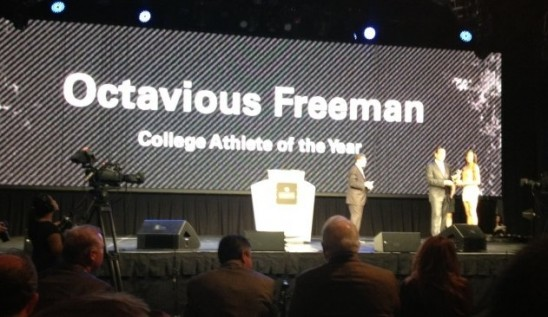 Track: Freeman Wins Back-to-back Athlete of the Year