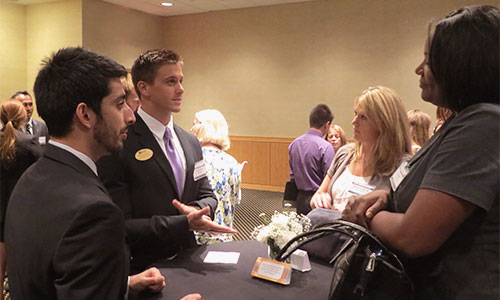 Networking Reception Held Prior to Expo