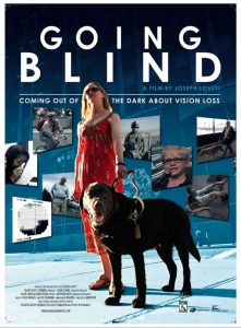 """""""Going Blind"""" documentary will be viewed at 12 noon."""