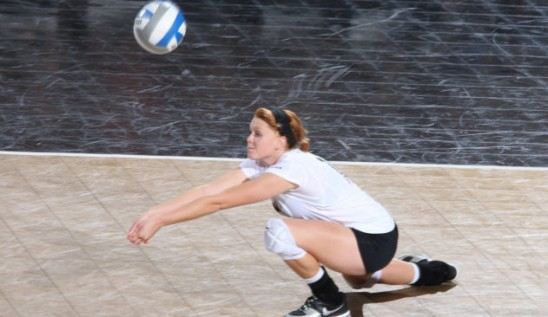 Volleyball: Murphy Gets Defensive