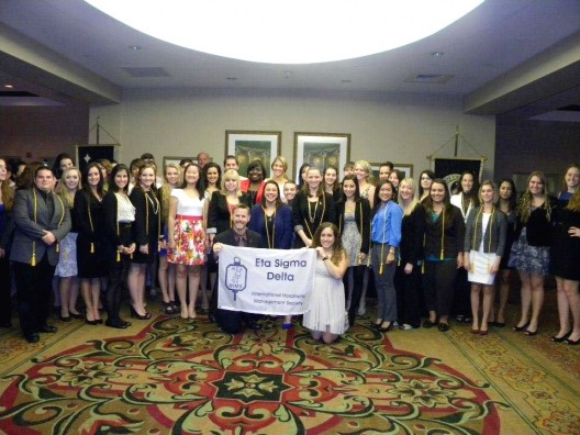 International Honor Society Welcomes Large Induction Class from Rosen College