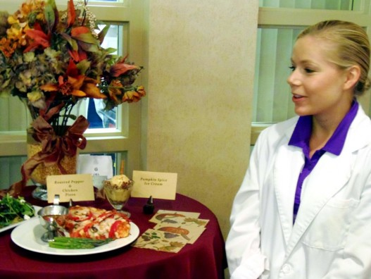 Students Dish Out Restaurant-Quality Food for Lab Practicum