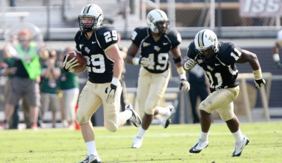 Football: With 49-24 Victory, Title Game Next
