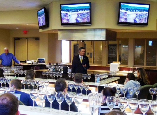 Master Sommelier Quenches Students' Thirst for Knowledge