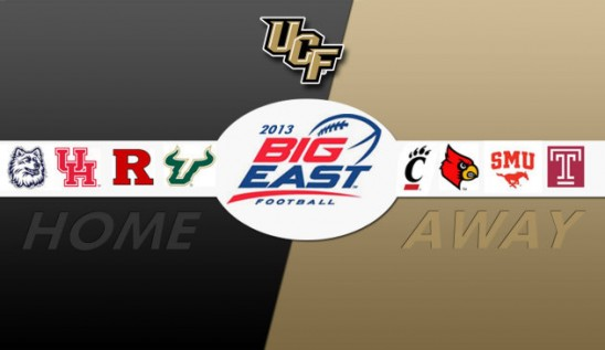 Knights to Host USF, Rutgers in Inaugural BIG EAST Football Season