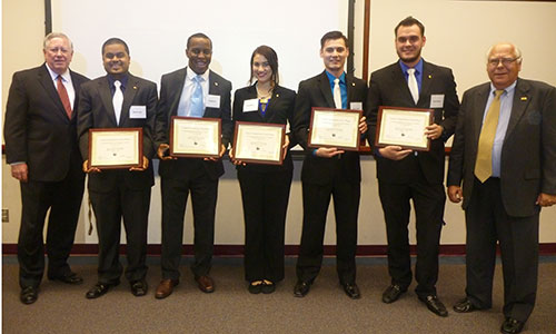 The Sky is the Limit for Capstone Winners