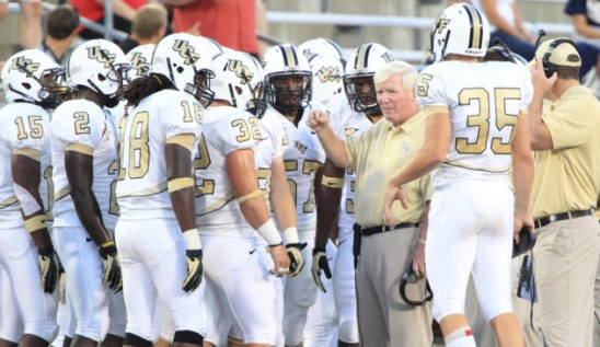 Football: UCF, Ball State Set for Beef 'O' Brady's Bowl
