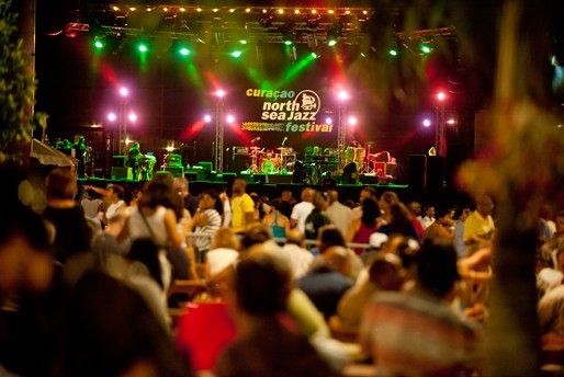 Photo of the 2012 Curacao North Sea Jazz Festival courtesy of the Festival's website.