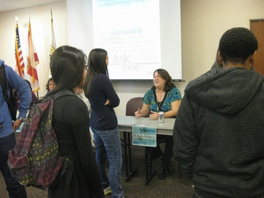 Medical Professionals Share Career Advice With Students