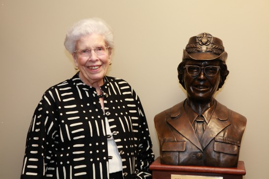 Navy Nurse Trailblazer Honored With Statue