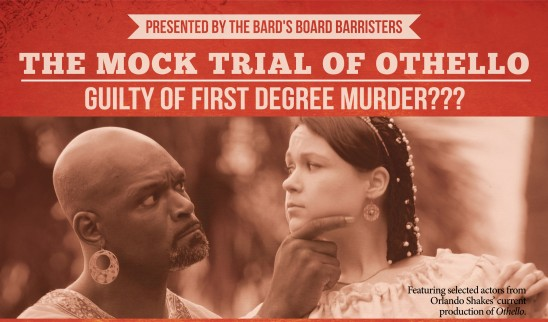 Guilty or Not? You Decide at Orlando Shakes' Mock Trial