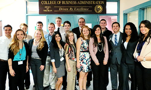 Ucf College Of Business >> College Of Business Administration Launches Student
