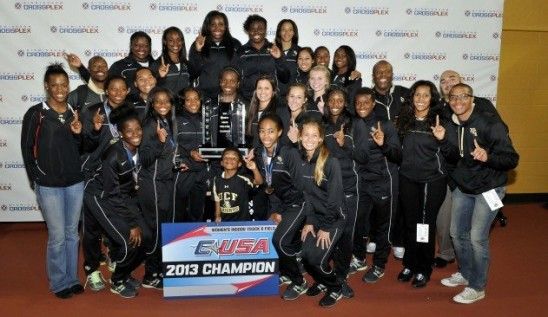 Track Champs: UCF Wins Indoor Title