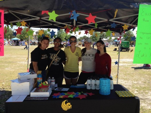Student Nurses Raise Almost $1,200 for Relay for Life
