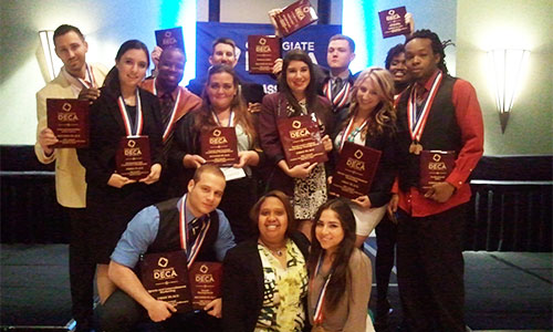 DECA Team Advances To Nationals