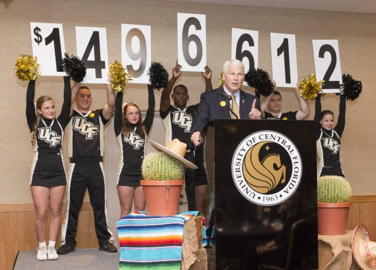 UCF Faculty and Staff Raise $1.4 Million
