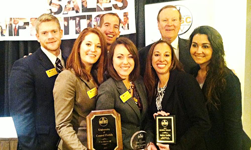 UCF Team Places in Top 10 at Sales Competition