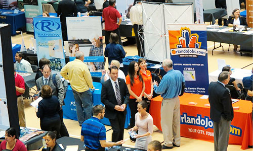 Student Led Career Fair Raises Money for Wounded Warriors