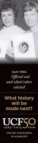 UCF 50: April 1968 Official seal and school colors selected