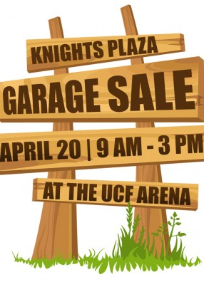 Save the Date: UCF to Hold First Knights Plaza Garage Sale April 20