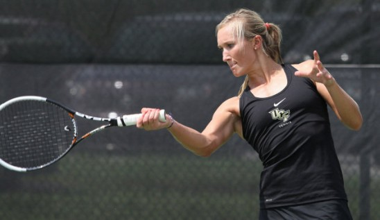 Lorbergs Makes UCF Tennis History