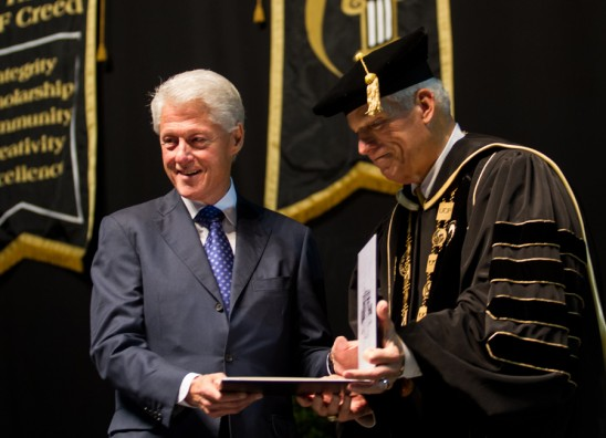President Clinton Addresses UCF Graduates