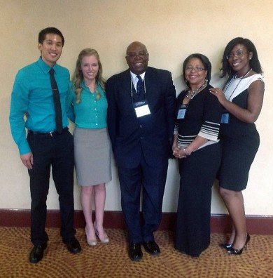 MASS Students Impress Higher Education Administrators