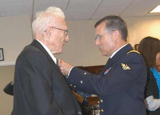 Founding UCF Vice President Honored by France for World War II Service