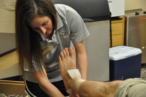 UCF Today - Donations Support Athletic Training Programjewett ut