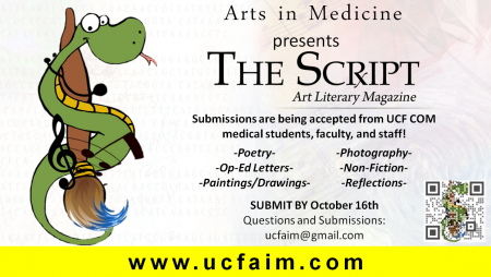 UCF Art Literary Magazine Features Human Side Of Healthcare