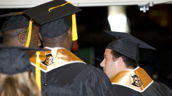 We're No. 1: Knights Set School Record for Graduation Rates