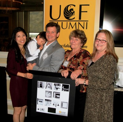 Emmy-Nominated Alumnus Honored